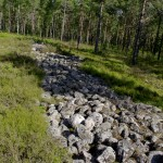 Del av stenmuren