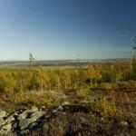 Utsikt från en fornborg